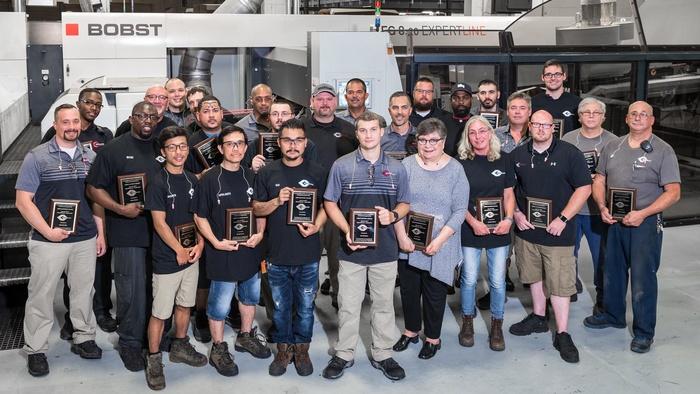 Acme Corrugated Box smashes production record on BOBST flexo