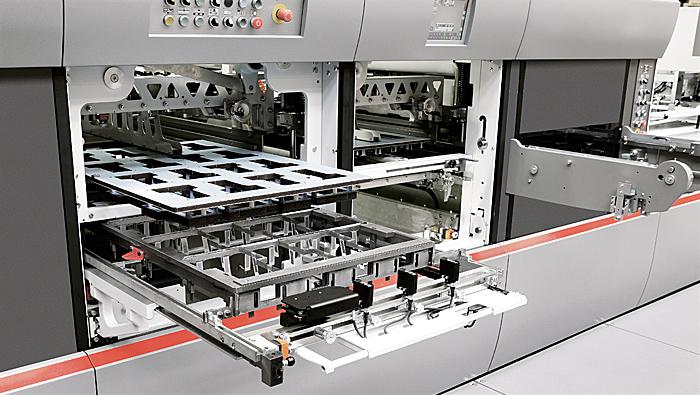 MASTERCUT 106 PER - Autoplaten® die-cutter - Features | BOBST